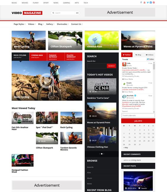 Use of Split Screen on Web Design Inspiration — December