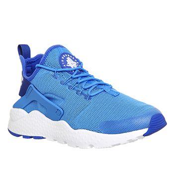 low priced 27f87 f90ab Nike Air Huarache Run Ultra Photo Blue White - Hers trainers
