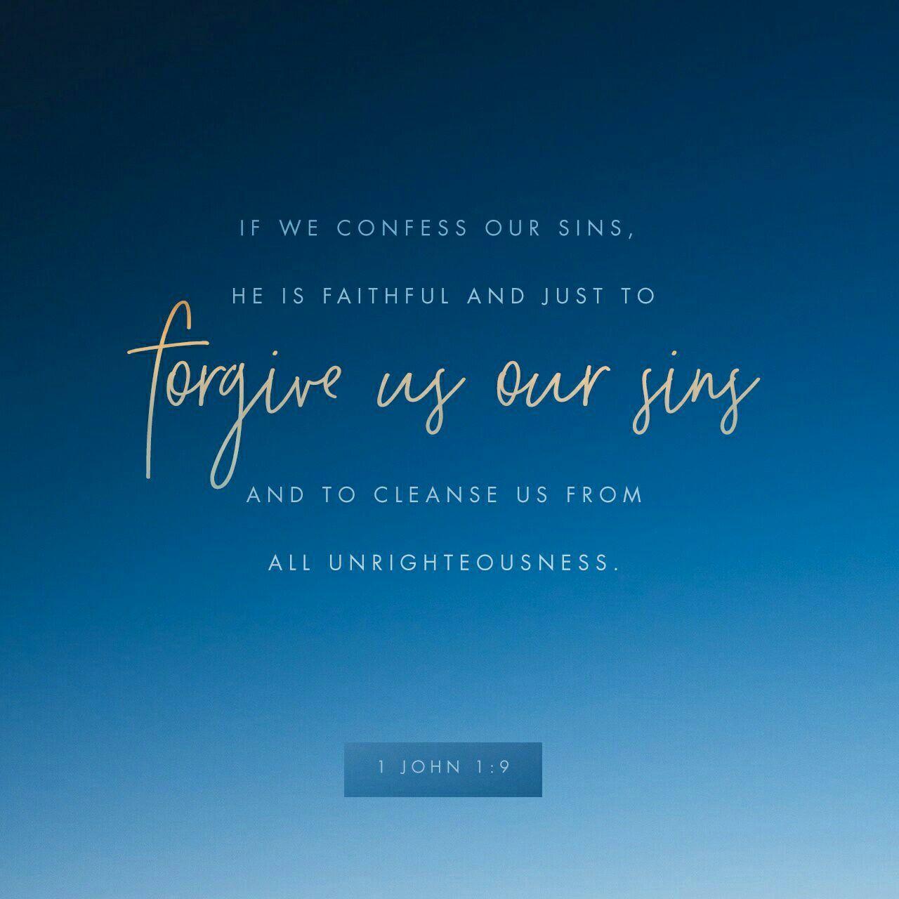 1 John 1 9 Bible Apps Faith Scripture Verses