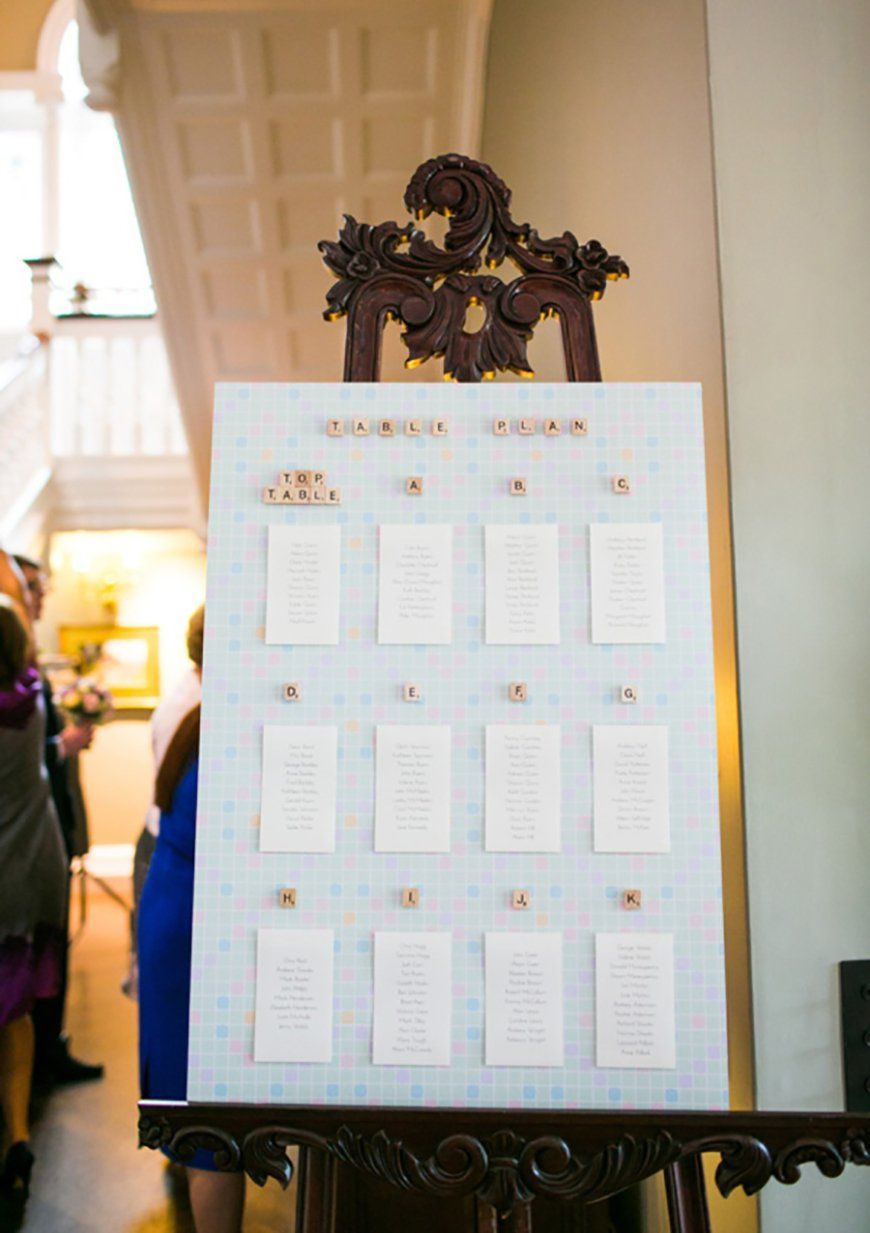 Quirky Wedding Ideas Wedding Ideas Quirky Weddings Table Plans
