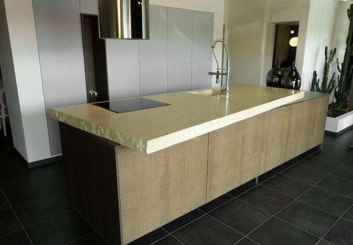 Plan de travail marbre granit St Etienne, Plan de travail marbre - installation plan de travail cuisine