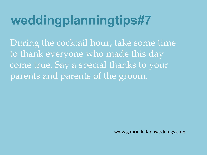 Bridetip Weddingplanningtip