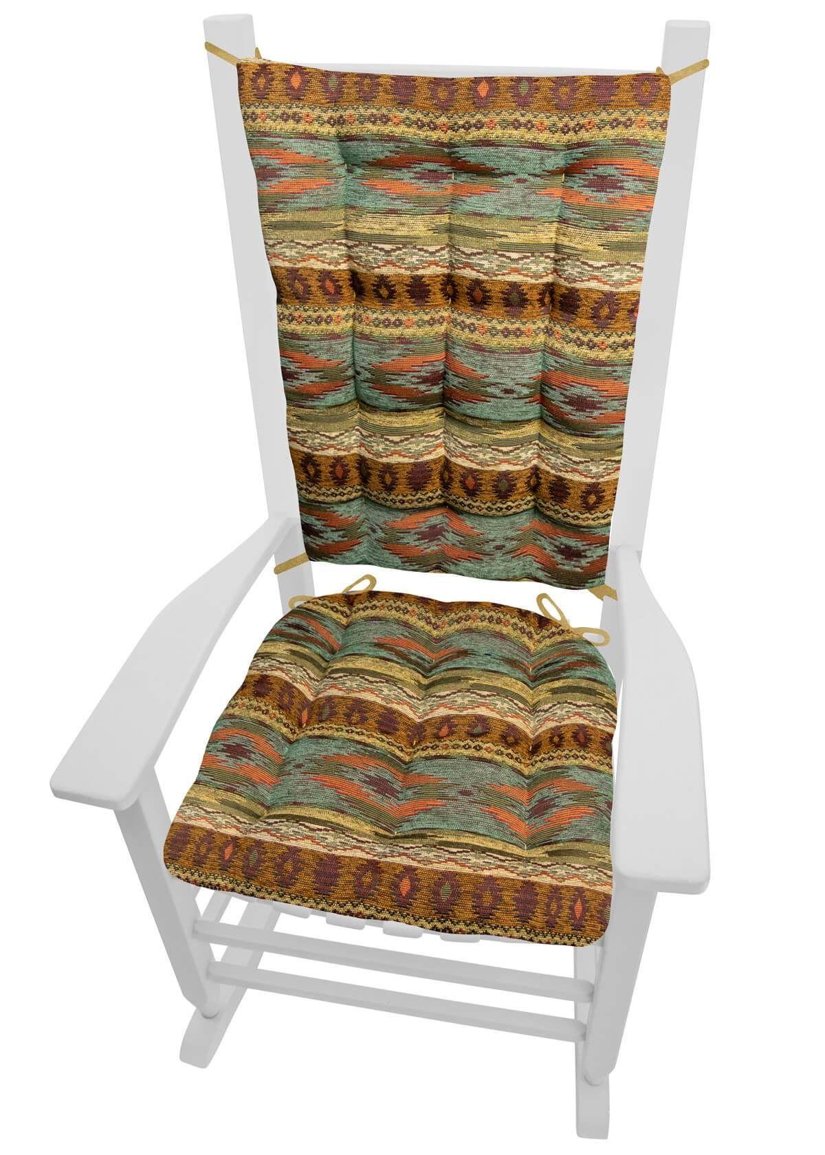 Southwest tucson desert rocking chair cushions latex foam fill