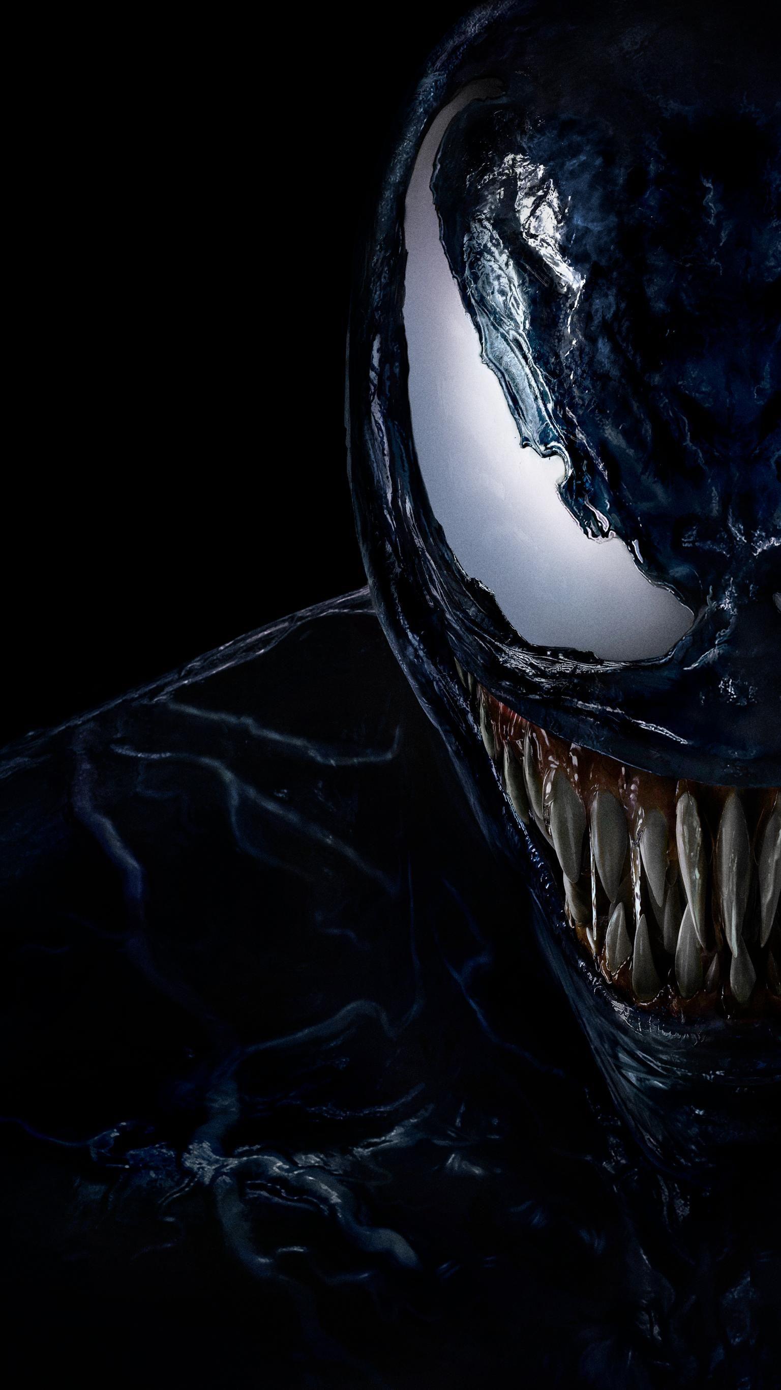 Venom (2018) Phone Wallpaper | Luciano | Venom movie, Marvel venom