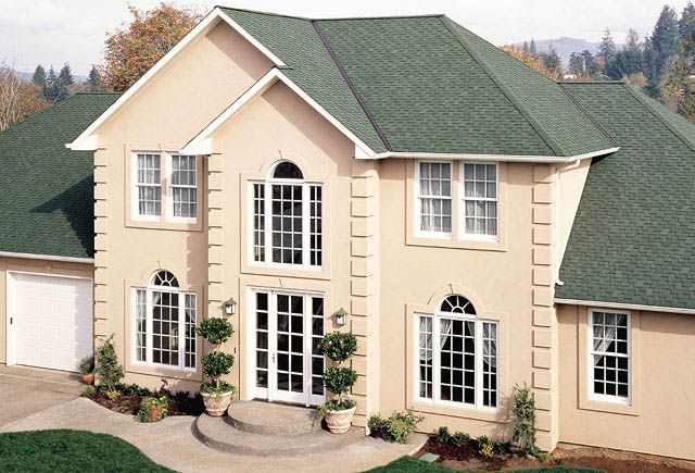 Best Green Architectural Roofing Shingles Augusta Green 400 x 300