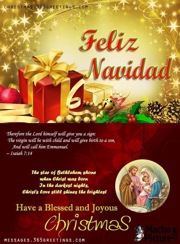 Spanish christmas greeting messages - 3 PHOTO!   Christmas ...