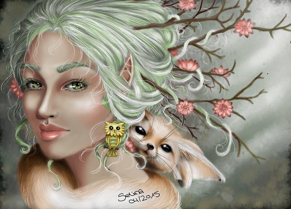 Mother Nature - Fantasy Art