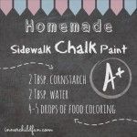 homemadechalkpaint