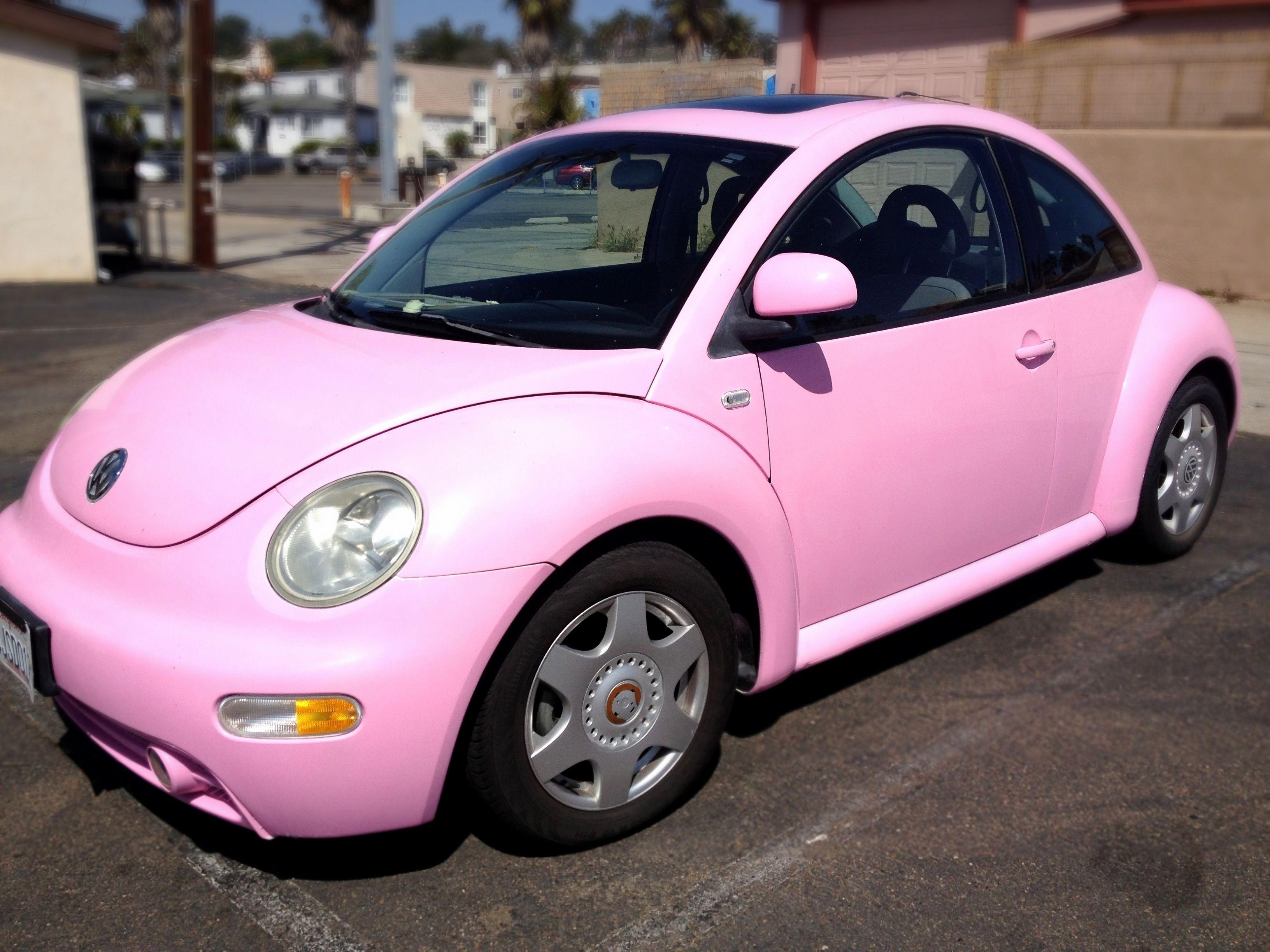 Punch Buggy Volkswagen >> Pink Vw Bug Pink Dream Cars Cars Volkswagen