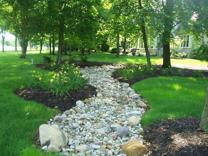 How To Create A Dry Creek This Dry Stream Bed Looks So