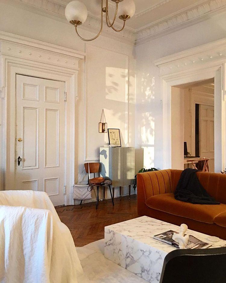 A Dreamy Parisian Style Apartment Parisian Apartment Decor House Interior Apartment Decor #paris #style #living #room