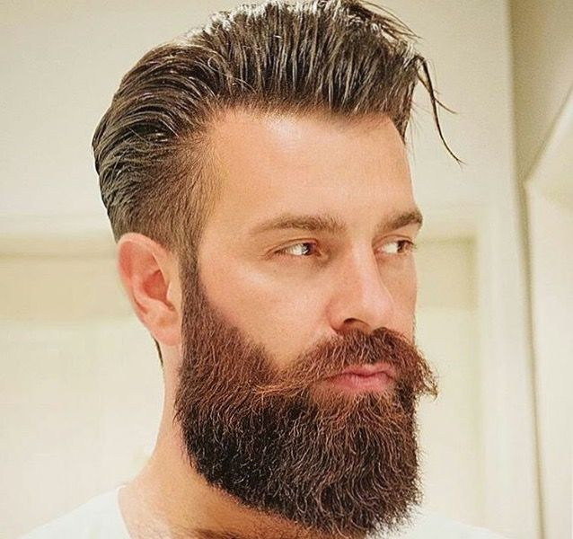 Hairstyles For Men With Beards Impressive Pinhalim Arfaoui On Ihr Stil  Pinterest  Mens Hair And Beard