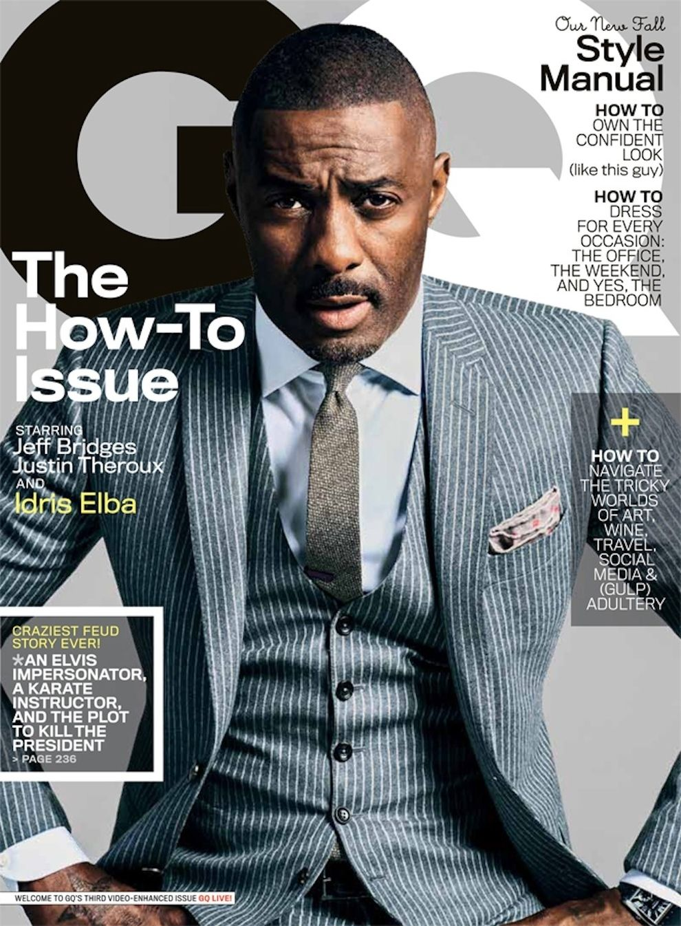 0914e2d6e49bdb Idris Elba Looking Mighty Fine On Cover Of GQ | Well dressed ...