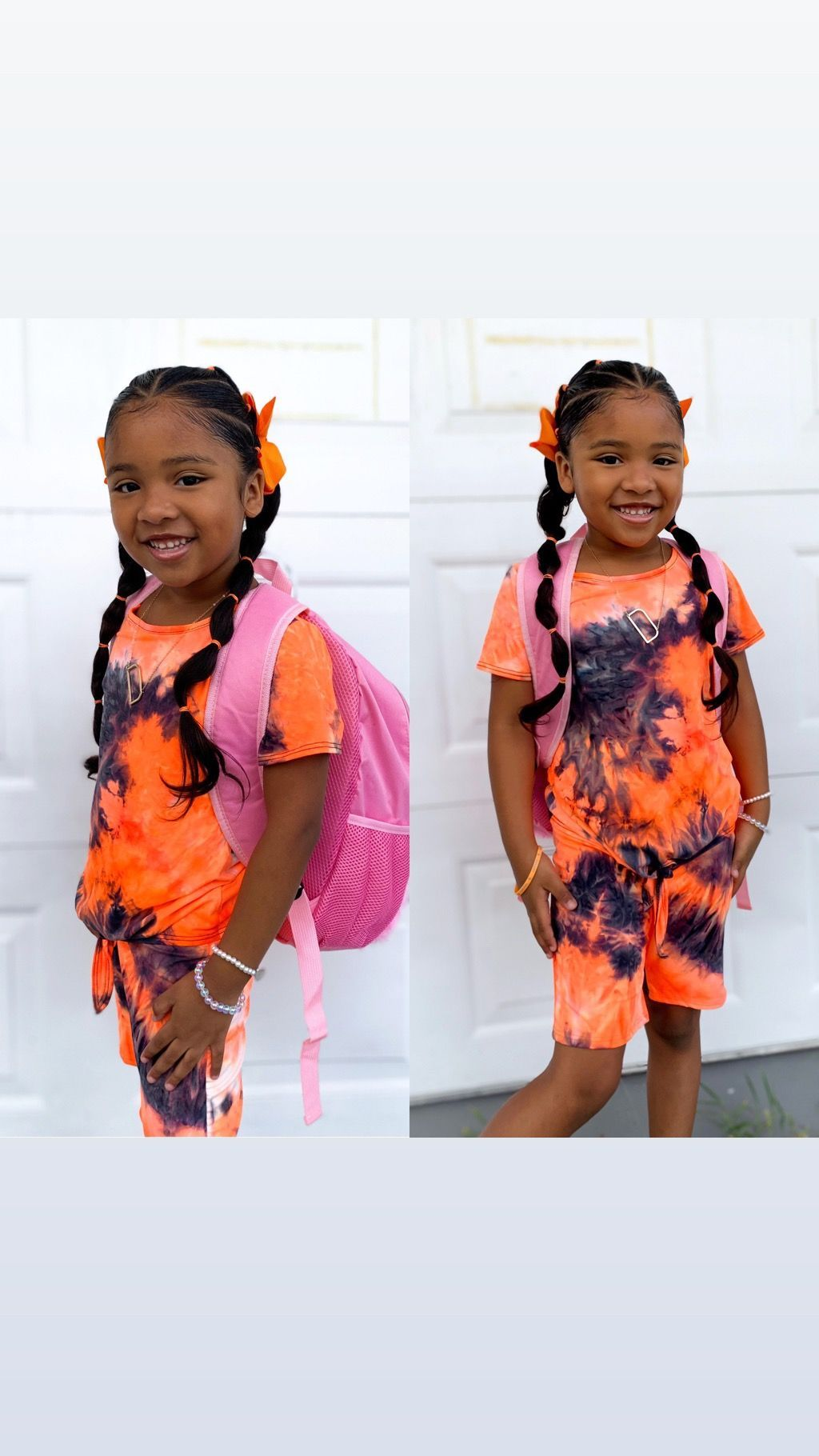 Girls hairstyles  #firstdayofschoolhairstyles Girls hairstyles, protective styles, first day of school, kid's fashion, hair bows, mixed kid, pretty girls, mixed #firstdayofschoolhairstyles