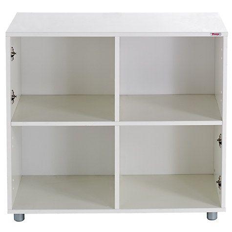 Stompa Uno S Plus Multi Cube Unit White Cube Unit Furniture Uk Childrens Furniture