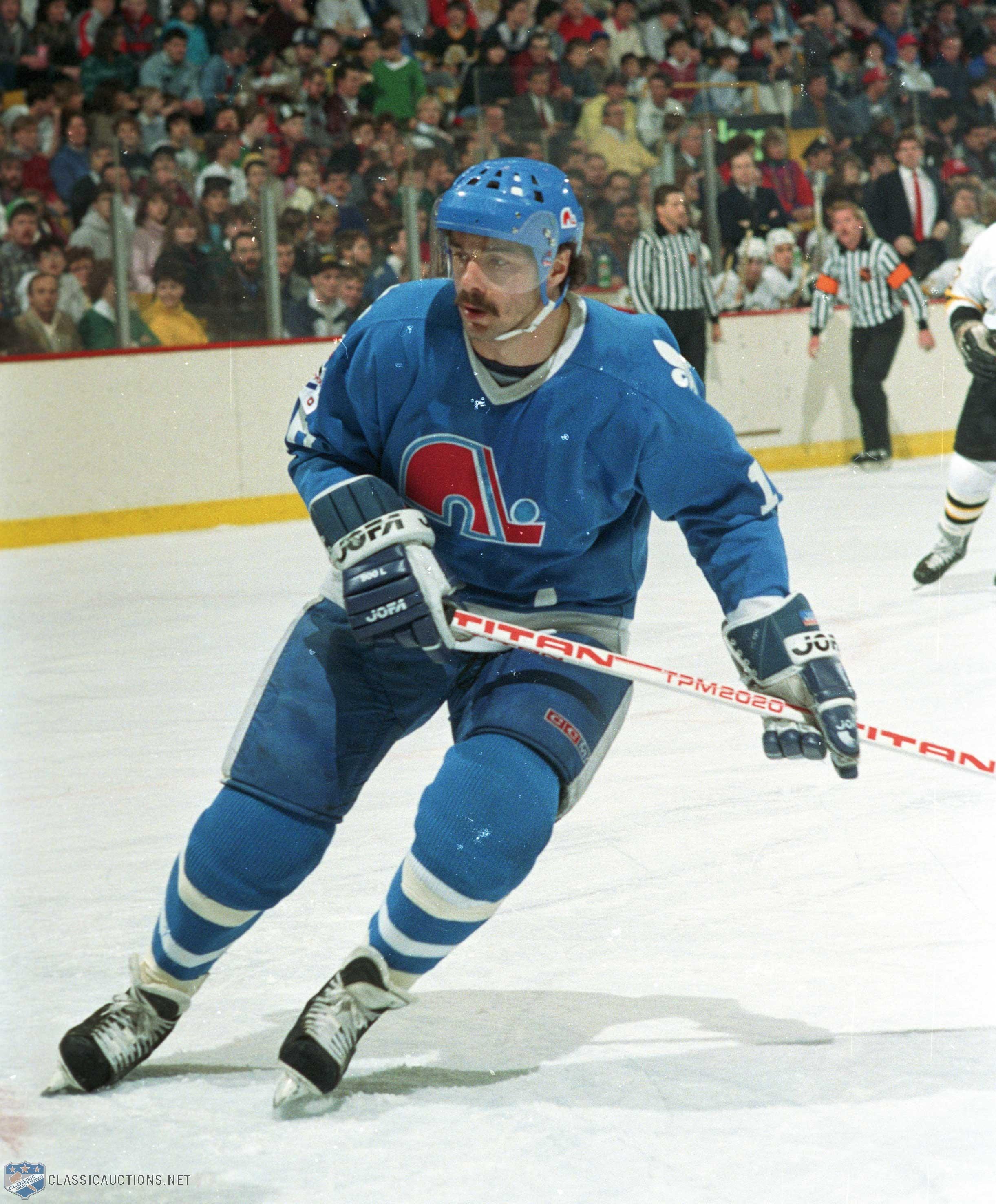 Michel Goulet Quebec Nordiques Canadian Hockey Players Hockey Players Quebec Nordiques