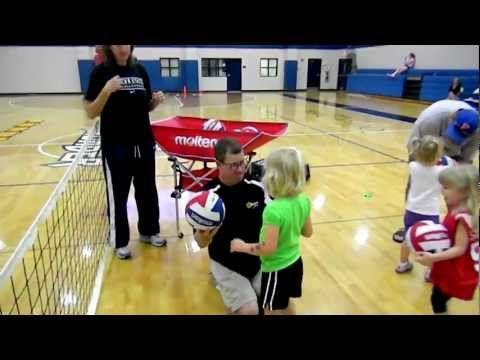 Volleytotz And Volleykidz Volleyball Program For Kids Youth Volleyball Volleyball Training Kids Volleyball