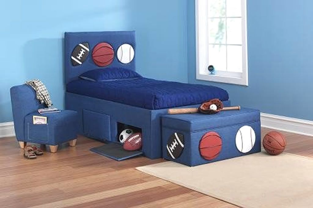 Kids Bedroom Furniture Design of 360 Sports Room Collection by ...