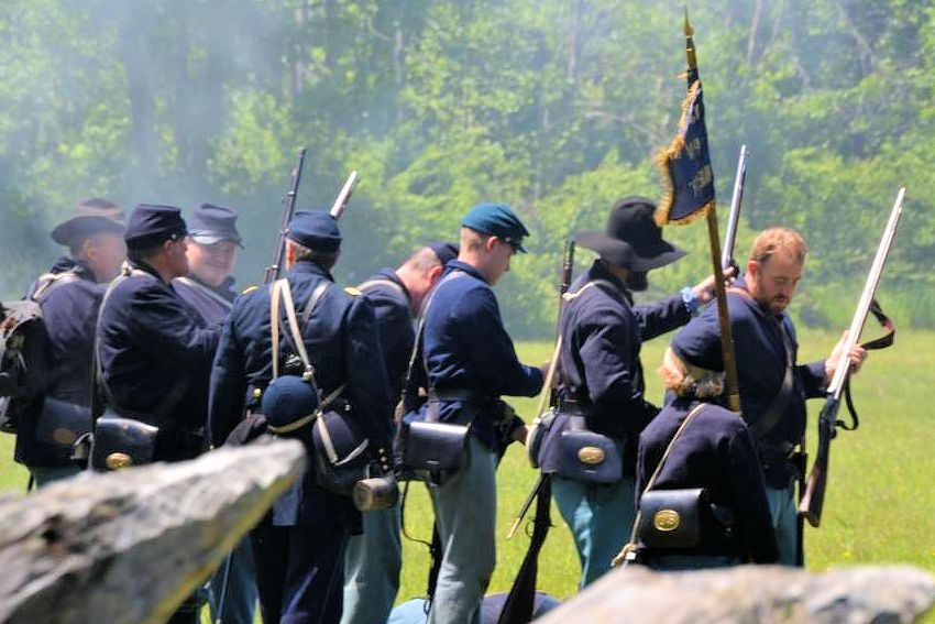 Old Bedford Village Civil War Reenactment | Civil war