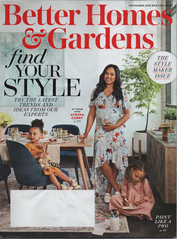 Better Homes And Gardens September 2018 Issue