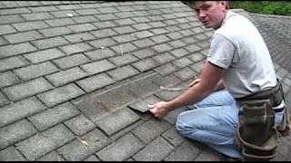 Roof Repair With Deck Patch And Shingle Replacement Youtube Roof Shingles Roof Repair Roof Repair Diy