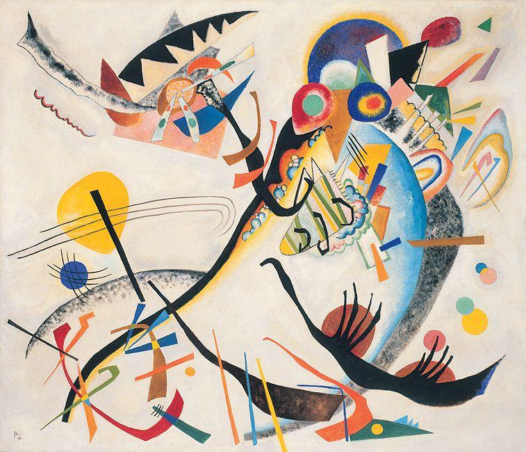 Wassily Kandinsky Blue Segment 1921 Guggenheim Museum New