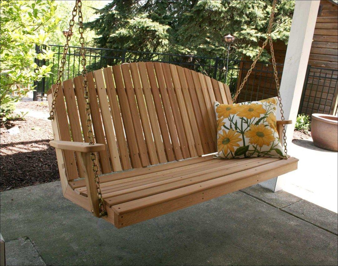 31 stunning wooden porch swings ideas swing chair