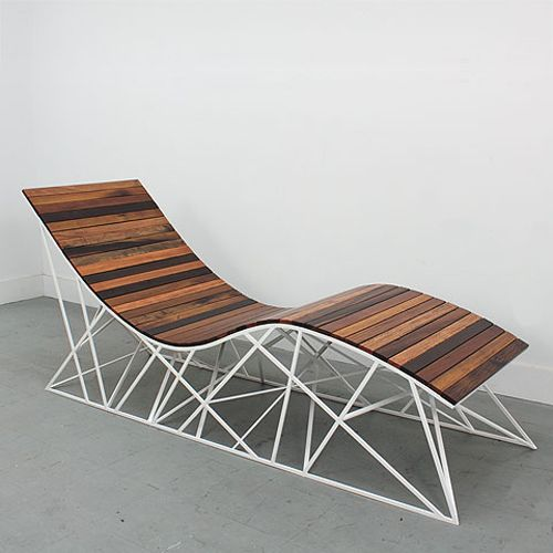 Cyclone Lounger By Uhuru Inspired The Roller Coaster On Coney Island Pinned To