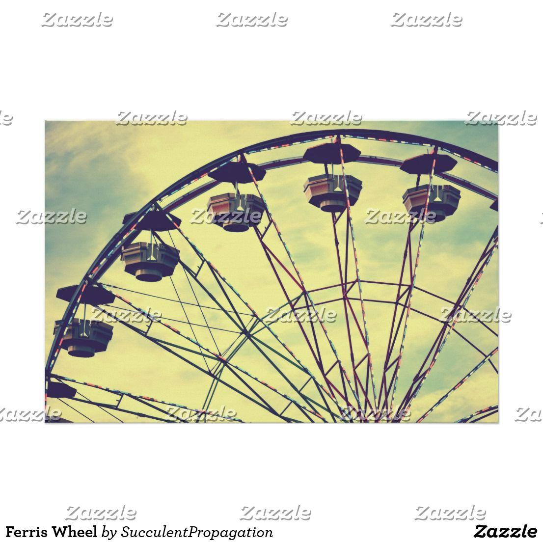 Ferris Wheel Poster | Ferris wheel, Art posters and Wheels