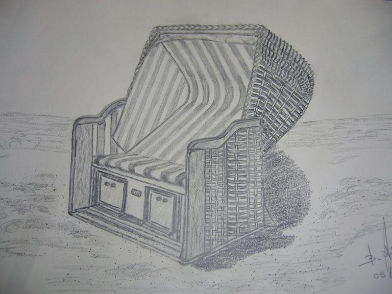 Strandkorb Malen sdatec.com