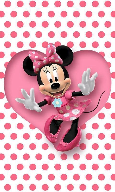 Pink Minnie Mouse Wallpaper Gendiswallpaper Imagenes Minnie Imagenes De Mimi Mouse Minnie Mouse Imagenes