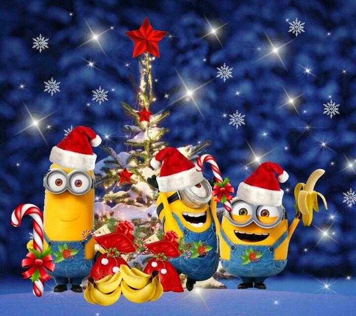 Christmas done right minon style christmas pinterest - Les minions noel ...