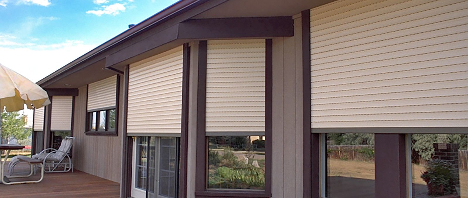 Exterior Window Protection. EXTERIOR WINDOW SHUTTERS FOR SUN ...