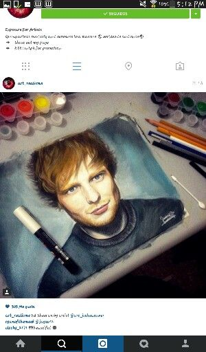 Ed sheeran Draw ! ♡
