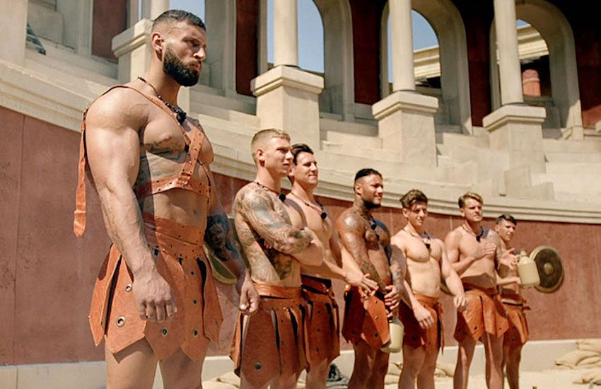 Ancient roman male to male sex