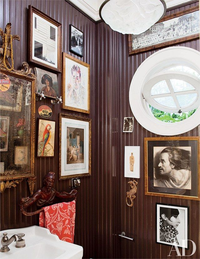 Powder Rooms Sure to Impress Any Guest | Pinterest | Powder room ...