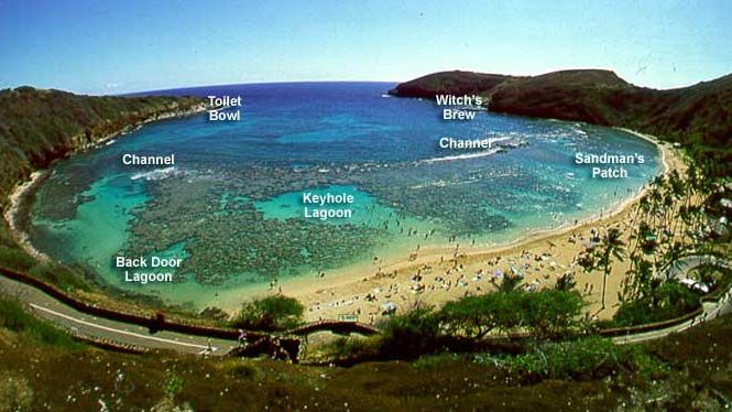 Hanauma Bay Hawaii has a lot of amazing places but this is one of