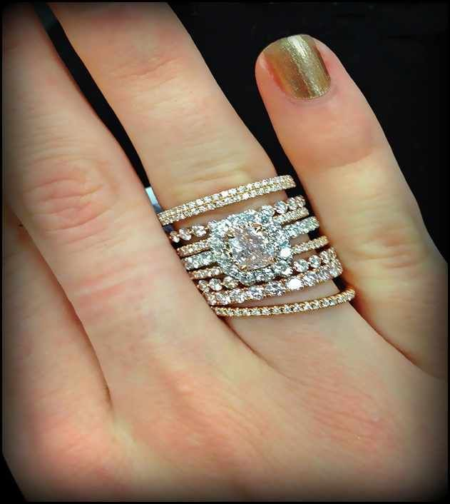 Perfect stackable wedding ring tiffany Google Search
