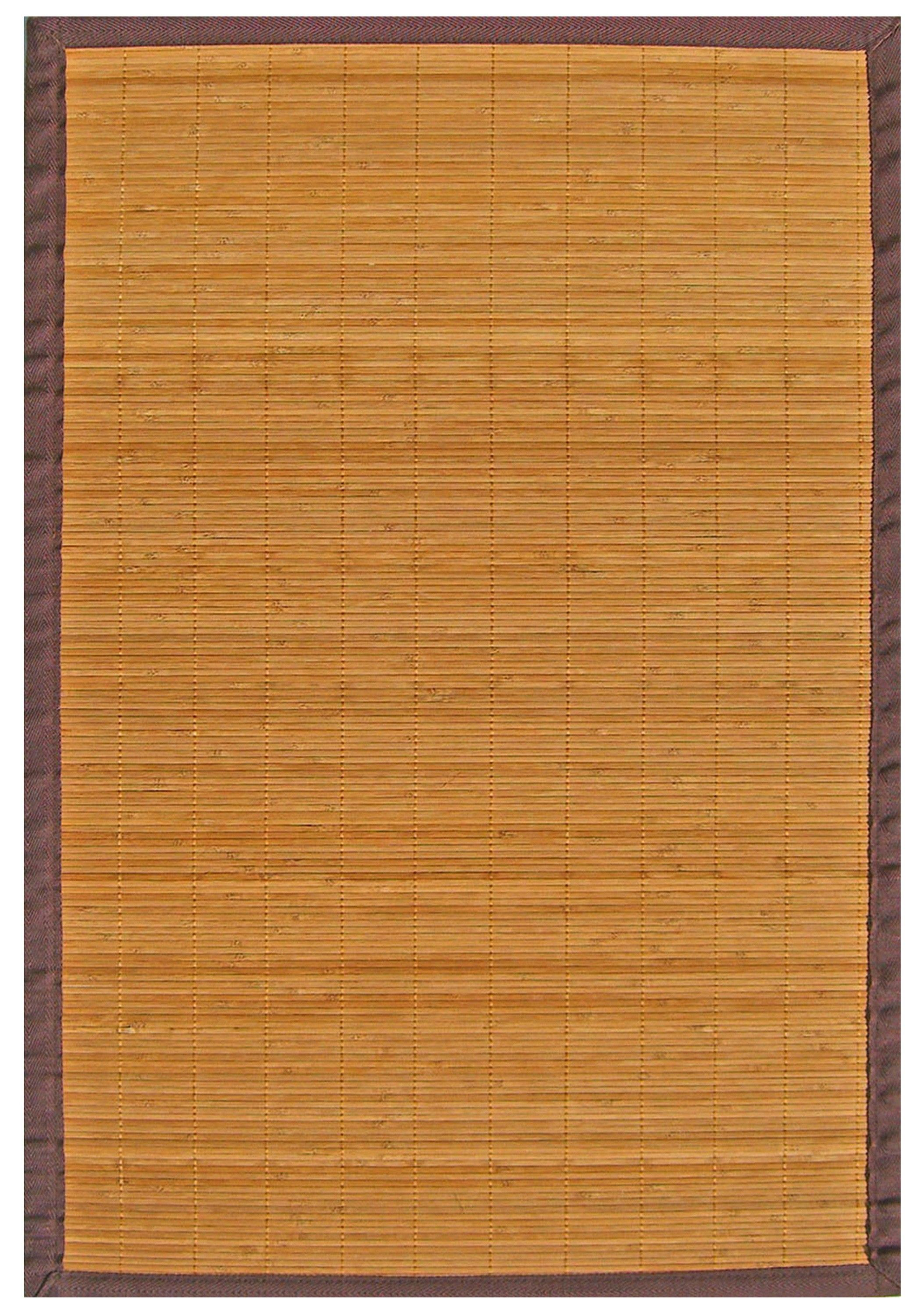 Villager Natural Bamboo Rug 6 x 9 Bamboo rugs have been a
