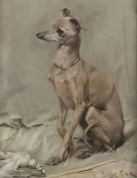 Image result for greyhound oil  painting