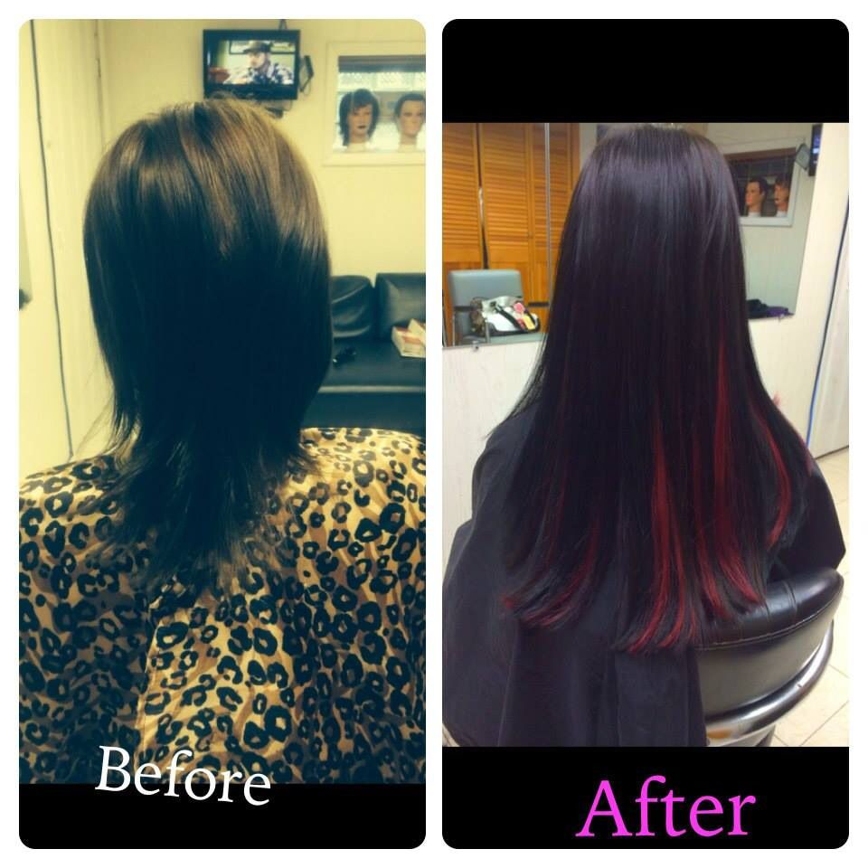 Beforeafter With Dreamcatchers Extensions Not My Work But I Am A