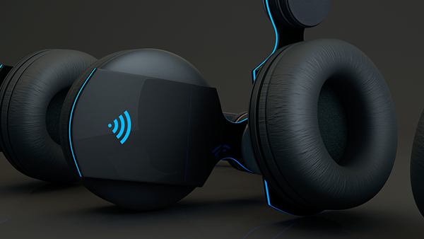 3D Headphones on Behance