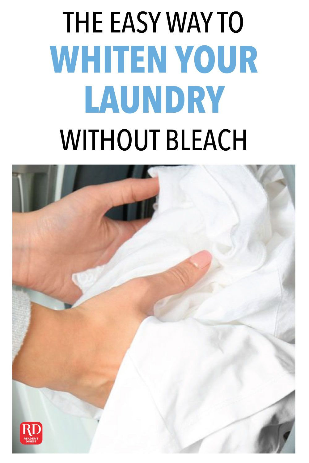 The Easy Way To Whiten Your Laundry Without Bleach Washing White