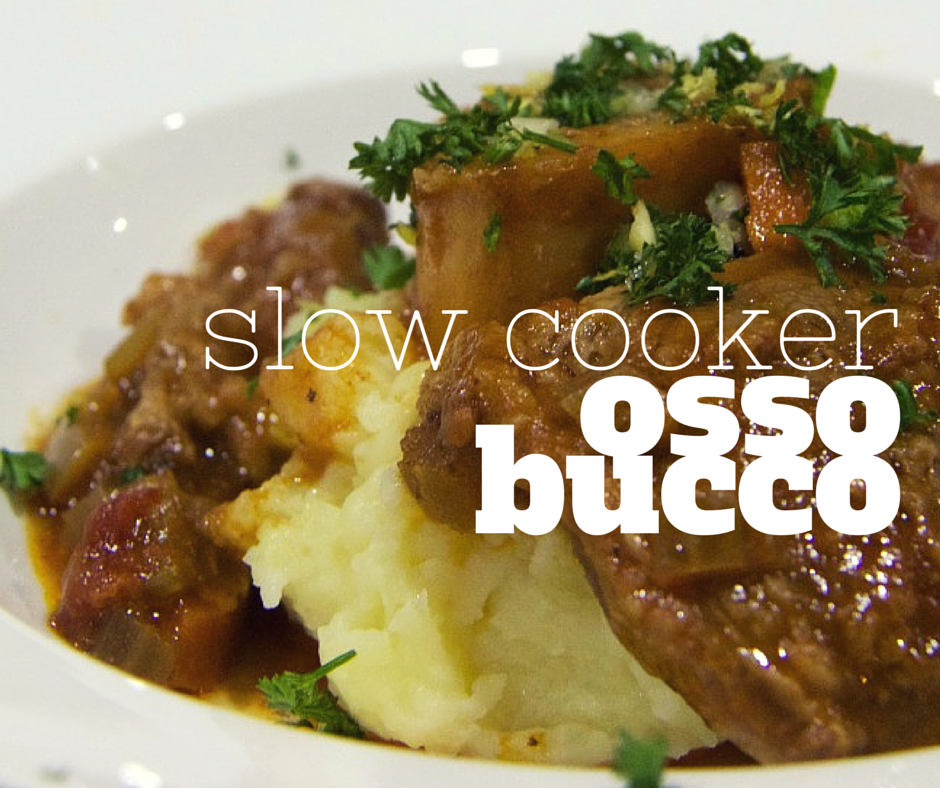 Slow cooker osso bucco #ossobuccorezept