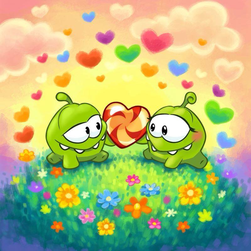 Love Is In The Air For Om Nom And Om Nelle Manualidades De Papel Para Ninos Como Aprender A Dibujar Dibujos Kawaii