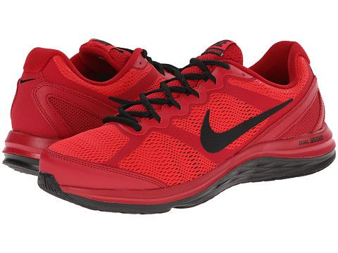 Nike Dual Fusion Run 3 Gym Red / Action Red / Black