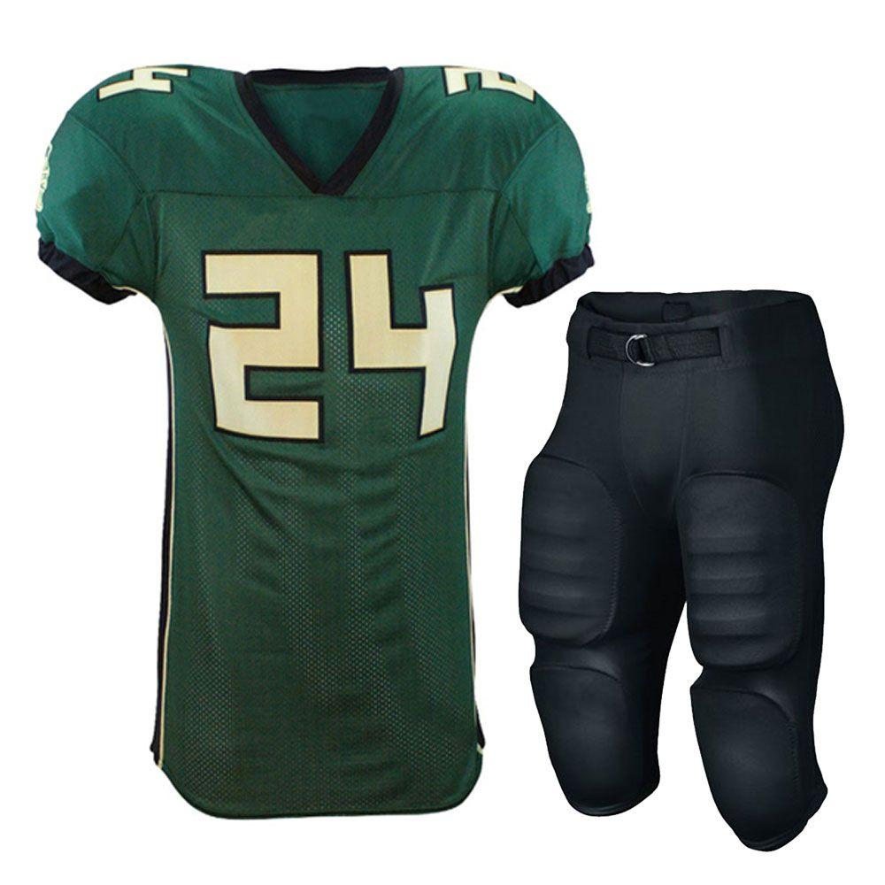 American football uniform in 2020 youth football
