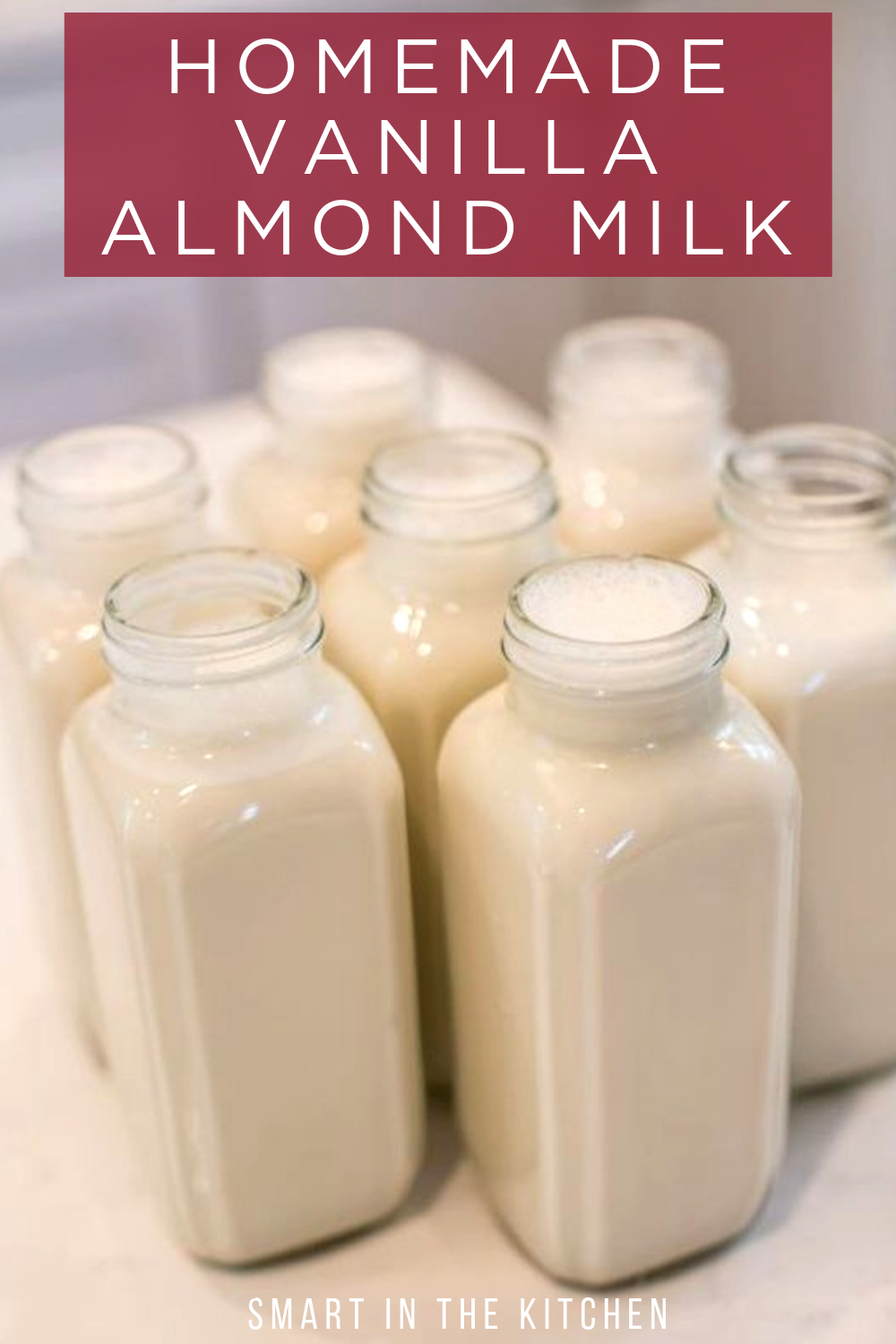Easy Homemade Vanilla Almond Milk -   17 diet Clean Eating almond milk ideas