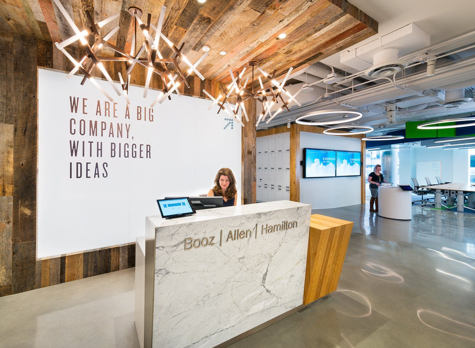 Booz Allen Hamiltons Innovation Center Offices Washington DC