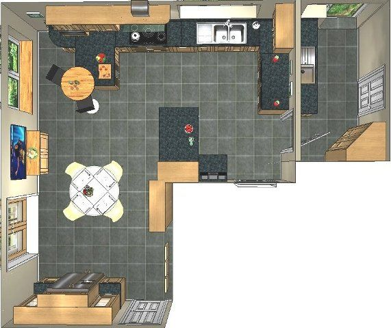 Image result for kitchen with utility area   Kitchen   Pinterest ...